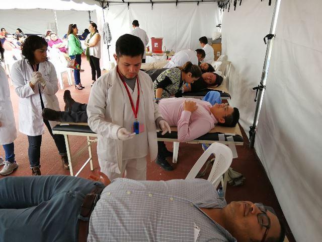 En el país se puede donar sangre en hospitales nacionales y unidades del Instituto Guatemalteco de Seguridad Social. (Foto Prensa Libre: Cortesía IGSS)