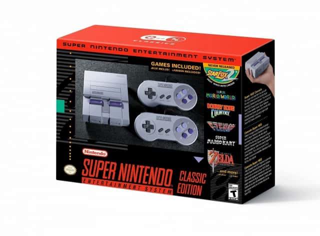 Así luce la versión estadounidense (y veremos si para el resto del continente) del SNES (Foto Prensa Libre: Nintendo).