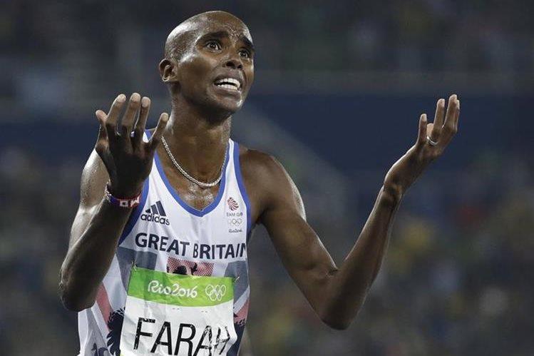 Mo Farah fue vinculado con el tema de dopaje. (Foto Prensa Libre: Hemeroteca PL)