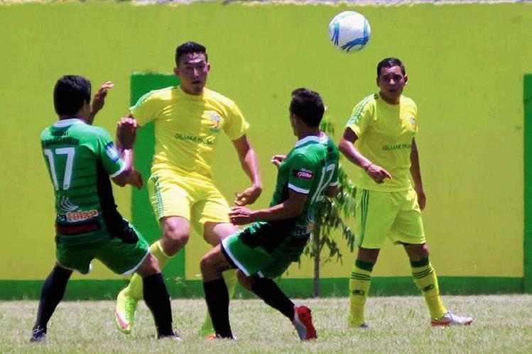 Guastatoya venció a Trigres del Jumay, en partido amistoso. (Foto Prensa Libre: Hugo Oliva).
