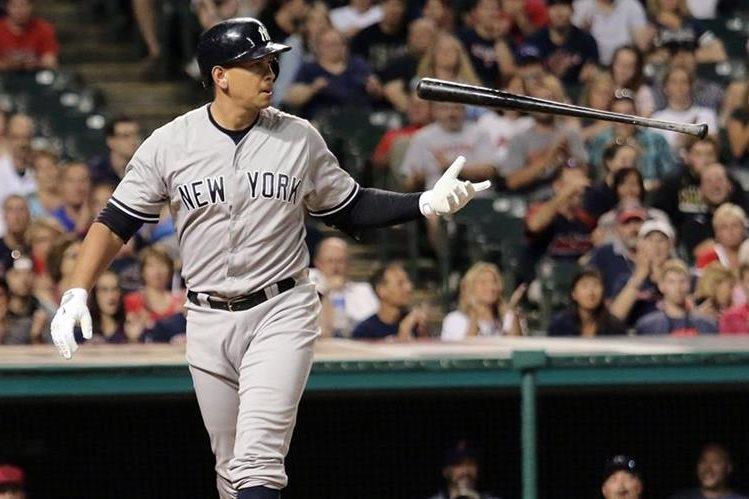 A-Rod se retira del beisbol profesional en el 2017. (Foto Prensa Libre: AP)