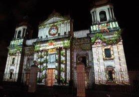 La catedral Metropolitana se vestirá de luz nuevamente con la proyección del mapping navideño.