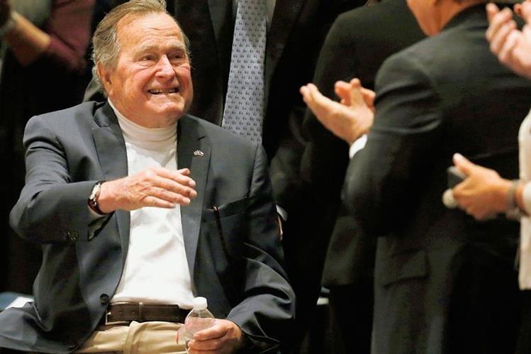 George H.W. Bush, expresidente de Estados Unidos. (Foto Prensa Libre: AP).