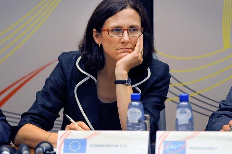 Malmström cree que los acuerdos comerciales deben incluir a la gente. (Foto Hemeroteca PL)