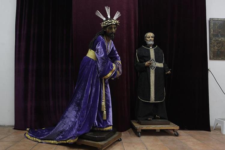 El Nazareno de las tres potencias y la imagen de San Felipe Neri, del siglo XVII, serán restaurados por Cerebiem.