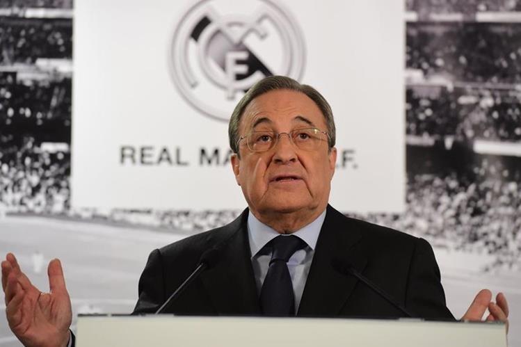El presidente del Real Madrid, Florentino Pérez, habló sobre el FC Barcelona y la independencia de Cataluña. (Foto Prensa Libre: Hemeroteca)