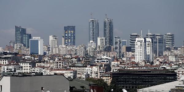 Vista general del distrito financiero en Estambul,Turquía. (Foto Prensa Libre:EFE).
