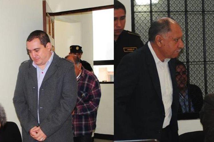 Luis Grijalva y Efraín Villegas falsificaron documentos para vender inmueble. (Foto Prensa Libre: María José Longo).