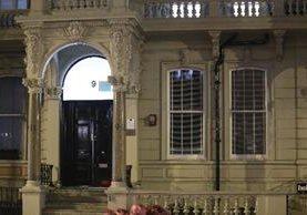 Oficina de la consultora Orbis Business Intelligence en el norte de Londres. (AFP).