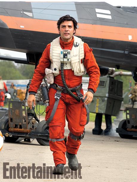 El guatemalteco Oscar Isaac participa en la nueva entrega de Star Wars. (Foto Prensa Libre: Entertainment Weekly)