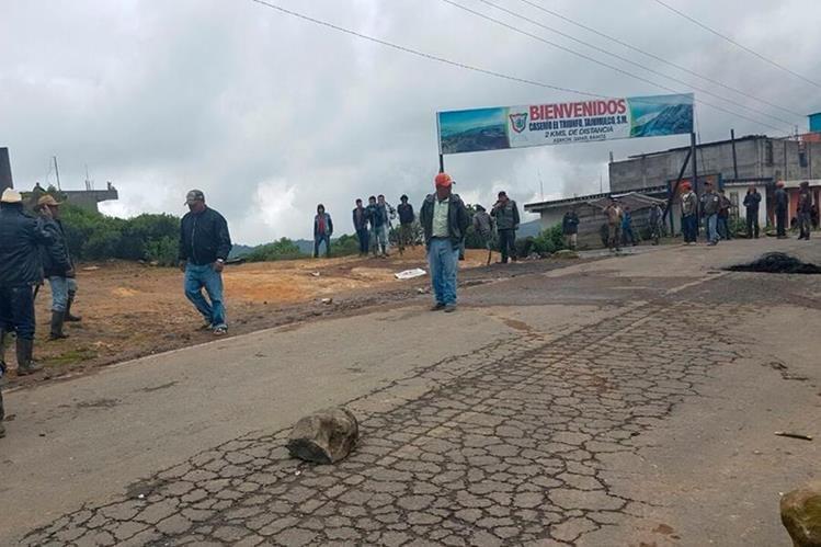 Autoridades mantienen estado de Sitio en Ixchiguán y Tajumulco, San Marcos, donde prevalece un conflicto territorial desde hace más de 80 años. (Foto HemerotecaPL)