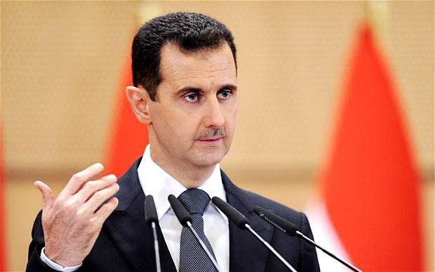 """El presidente sirio Bashar Al-Asad demanda de Europa """"dejar de apoyar a terroristas"""", para minimizar la inmigración. (Foto: panorama.com.ve)."""