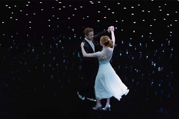 La película La La Land se ha convertido en una de las favoritas para conquistar los premios dedicados al cine. (Foto Prensa Libre: Hemeroteca PL)