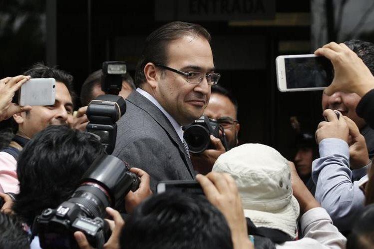 Javier Duarte, exgobernador de Veracruz, es buscado por corrupción. (Foto Prensa Libre: AP)