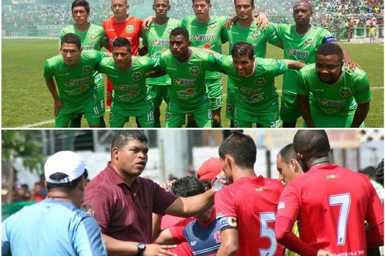 Malacateco y Escuintla-Heredia jugarán una serie con partidos de ida y vuelta en el repechaje de la Liga Nacional. (Foto Prensa Libre: Hemeroteca)