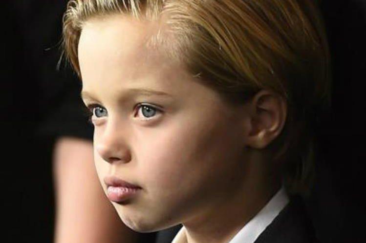 Shiloh Jolie-Pitt tiene nueve años y le gusta que la llamen John. (Foto Prensa Libre: Hemeroteca PL)