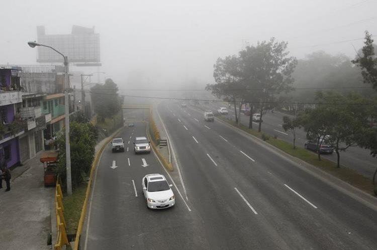 Panorámica del ambiente en ruta del Periférico.