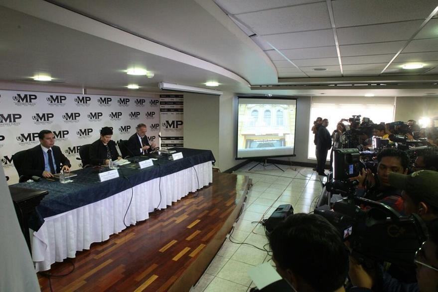 MP y Cicig dan detalles de la participación de los Morales en actos ilícitos. (Foto Prensa Libre: Alvaro Interiano)