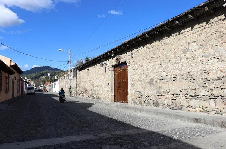 El plan para conservar y proteger el patrimonio  del Valle de Panchoy se implementará en el 2018. (Foto Prensa Libre: Julio Sicán)