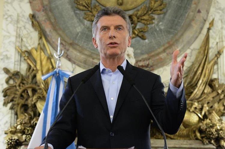 Mauricio Macri podría estar implicado en inversiones fantasma. (Foto Prensa Libre: EFE)