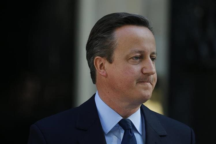 """El primer ministro británico, David Cameron, celebró el lunes su primera reunión del Gobierno luego del """"brexit"""". (Foto Prensa Libre: AP)."""