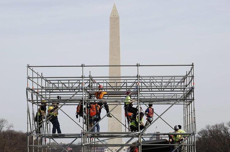 Éste será el escenario junto al Capitolio.