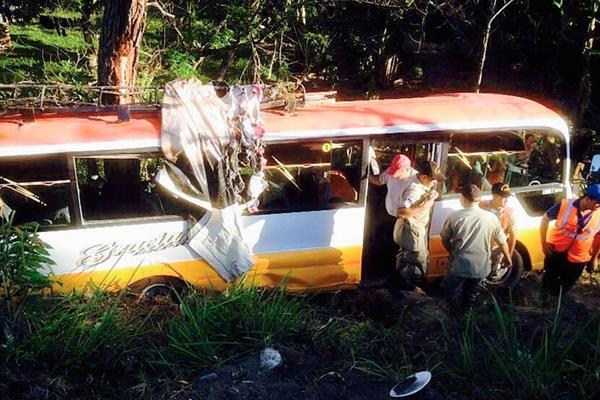 Durante el  período se han registrado 19 accidentes tránsito en carreteras de Honduras. (Internet)
