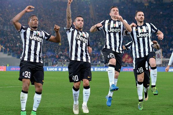 La Juventus podría definir este lunes  el título de la Serie A de Italia. (Foto Prensa Libre: EFE)