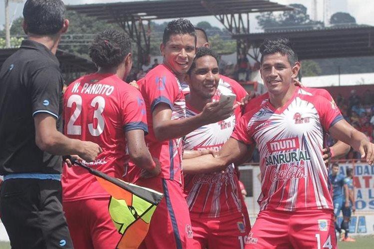 Malacateco no se cansa de ganar en el Torneo Apertura 2016. (Foto Prensa Libre: Hemeroteca)