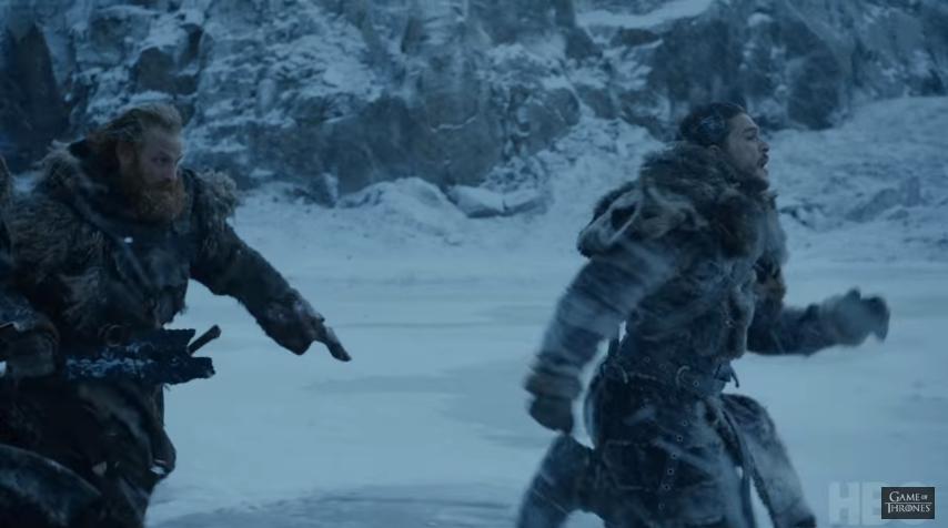 Imagen del tráiler del sexto episodio de la séptima temporada de Game of Thrones (Foto Prensa Libre: YouTube).