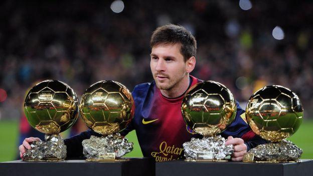 El inmenso talento de Lionel Messi era evidente desde pequeño, pero varios directivos del Barcelona no estaban convencidos de su fichaje. Getty Images