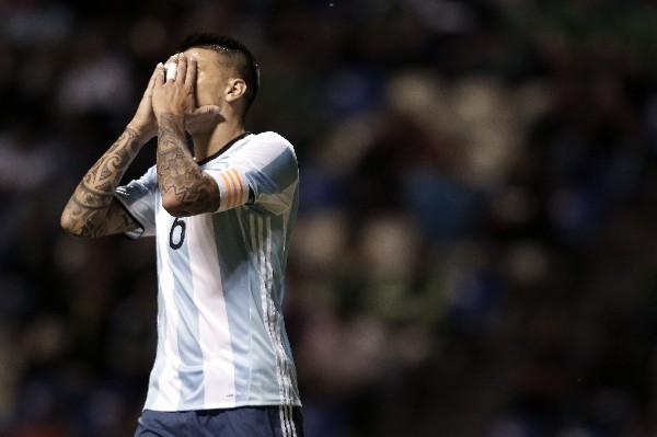 La selección de Argentina denunció haber sido víctimas de robo en México. (Foto Prensa Libre: AFP).
