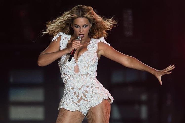 """La cantante Beyoncé debe preocuparse porque tres ancianas han hecho viral su baile al ritmo de """"Single Ladies"""". (Foto Prensa Libre: Hemeroteca PL)"""