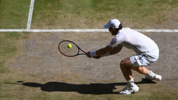 Raonic alabó la capacidad de Murray para devolver sus servicios. (Getty Images)
