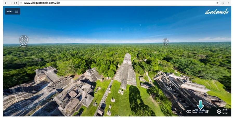 El proyecto Guatemala Virtual 360° será accesible desde el buscador Google Maps.(Foto Prensa Libre: Inguat)