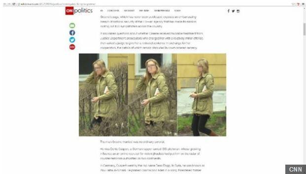 La cadena CNN fue la primera en publicar la historia de Daniela Greene.