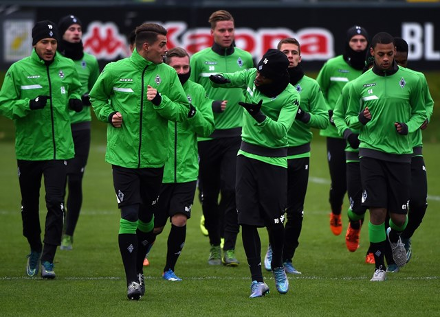 El Borussia Moenchengladbach recibe la visita del Sevilla. (Foto Prensa Libre: AFP)