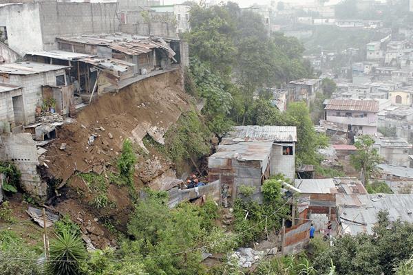 La falta de vivienda afecta a la mayoría de guatemaltecos.