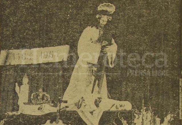Velación de Jesús de Candelaria en octubre de 1963 celebrando el IV Centenario de su hechura. (Foto: Hemeroteca PL)