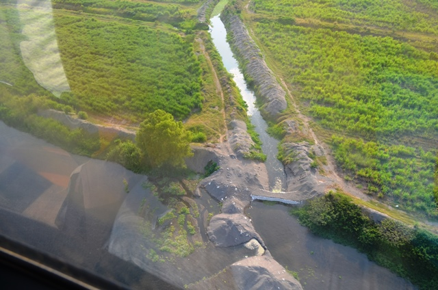 El cauce del río Madre Vieja fue liberado el 9 de febrero último por vecinos de Nueva Concepción, Escuintla. (Foto Prensa Libre: Jorge Tizol)