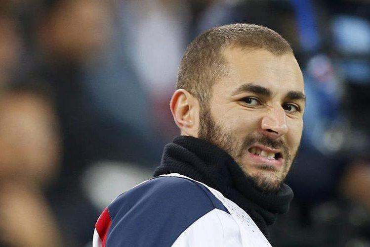 Karim Benzema asistió voluntariamente este miércoles para prestar su declaración. (Foto Prensa Libre: Hemeroteca PL)