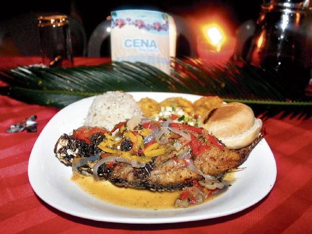Algunos restaurantes de  Punta de Manabique, Puerto Barrios, Izabal,  ya ofrecen platillos de pez  león,  que  pueden costar hasta Q125. (Foto Prensa Libre: Dony Stewart)