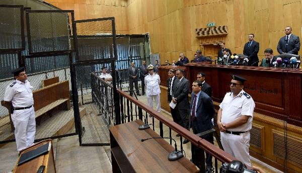 Tribunal en El Cairo da su fallo contra el El expresidente Mohamed Morsi.(AFP)
