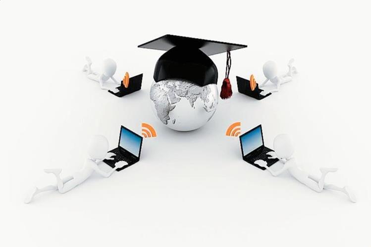 La educación a distancia ofrece ventajas y también presenta desafíos (Foto Prensa Libre: Hemeroteca PL).