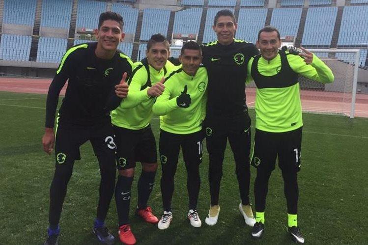 El América se prepara para enfrentar al Real Madrid el jueves en el Mundial de Clubes en Japón. (Foto Prensa Libre: Club América)