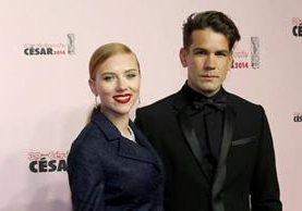 Scarlett Johansson y Romain Dauriac rompieron su relación. (Foto Prensa Libre: Hemeroteca PL)