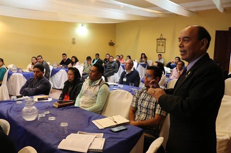La actividad se llevó a cabo en la gobernación departamental en San Marcos.(Foto Prensa Libre: Whitmer Barrera)