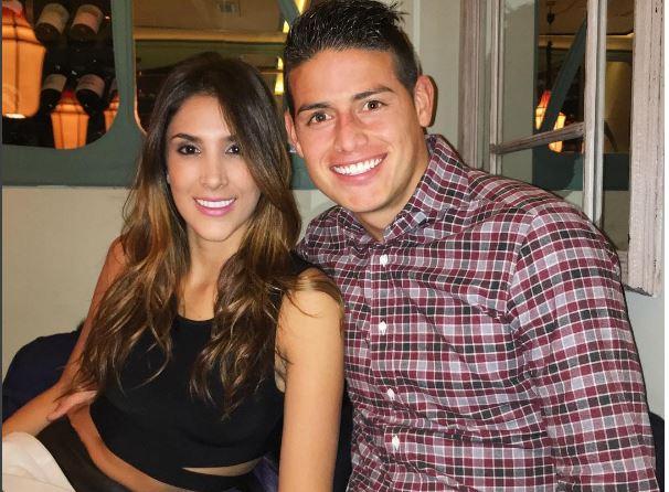 James Rodríguez y Daniela Ospina mantendrán una relación cordial pese a su separación, según el comunicado. (Foto Prensa Libre: Instagram James Rodríguez)