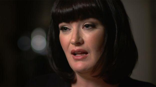 Es la primera vez que Barbara Piling hace públicas sus alegaciones. (Panorama BBC)