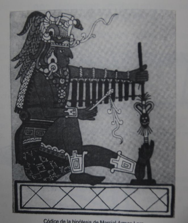 Códice de la Hipótesis del folclorista Manuel Armas Lara.  (foto Prensa Libre: Hemeroteca PL).